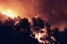اعزام ۲ فروند بالگرد آتشنشانی برای اطفای جنگلهای ارسباران