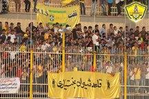 حاشیه های دیدار نفت مسجد سلیمان و نساجی