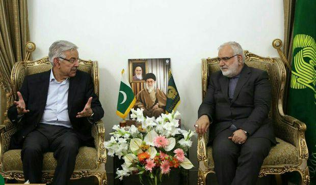 آمادگی دولت پاکستان برای همکاری با آستان قدس رضوی در خصوص زائران پاکستانی