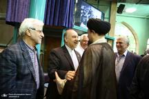 دیدار جمعی از مدیران و پیشکسوتان ورزش با سیدحسن خمینی/وزیر ورزش از اتفاق بزرگی در آینده نزدیک خبر داد +تصاویر