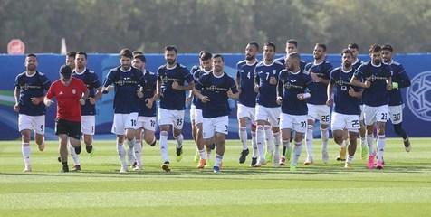 مرخصی کی روش به پسران/ گشتوگذار بازیکنان در دبی