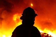 آتش سوزی در کمپ ترک اعتیاد قرچک 11 مجروح برجای گذاشت