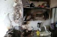 انفجار گاز پیک نیک در منزل مسکونی در ناحیه منفصل شهری حسن آباد