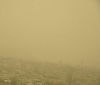 هوای برخی شهرهای استان ایلام در وضعیت اضطرار قرار گرفت