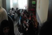 دانش آموزان نیازمند زاهدانی معاینه رایگان شدند