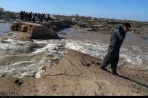 سیل بندهای دشت آزادگان با افزایش دبی رودخانه مقاومت نمی کنند