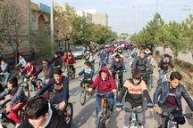 همایش دوچرخهسواری همگانی در خلخال برگزار شد