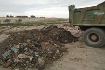 عاملان تخلیه غیرمجاز نخاله و زباله در زاهدان شناسایی شدند
