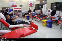 اهدای خون در قزوین 9.97 درصد کاهش داشته است