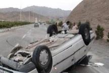 واژگونی پژو با 2 کشته و یک مجروح در فارس