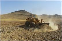 رفع تصرف و خلعید از اراضی ملی شهرستان بروجن