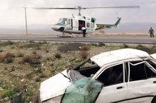 تصادف در آزادراه قم – تهران، یک کشته و 6 مصدوم برجای گذاشت