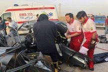 امدادگران هلال احمر قزوین به یاری 6 مصدوم شتافتند