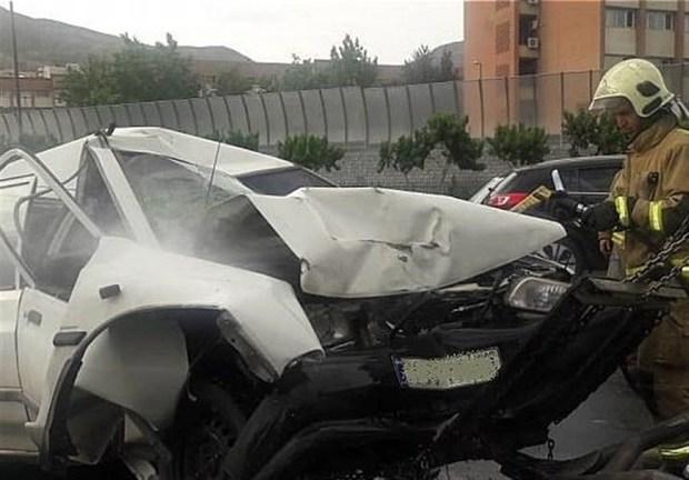 تصادف در جاده فیروزآباد به نورآباد یک کشته برجا گذاشت