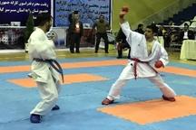 نفرات برتر مسابقه کاراته قهرمان قهرمانان گیلان مشخص شدند