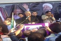 آزادی و امنیت ارمغان دولت روحانی است و آن را استمرار می دهیم