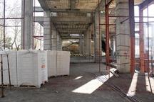 ساخت تالار مرکزی در سنندج شتاب گرفت