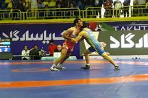 درخشش کشتی گیران ایرانی در روز نخست مسابقات جام جهانی تختی در ماهشهر