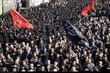 اجتماع بزرگ عزاداران حسینی در رشت برگزار شد