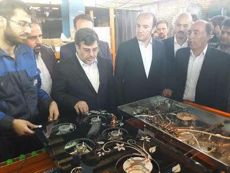 استاندار قزوین از چند واحد تولیدی در شهرک صنعتی لیا بازدید کرد