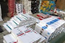 265 هزار نخ سیگار قاچاق در آذربایجان شرقی کشف شد