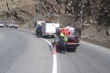 مکان های حادثه خیز جاده های البرز ایمن سازی شد