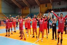 صعود تیم والیبال شهرداری قزوین به مرحله حذفی لیگ دسته اول کشور