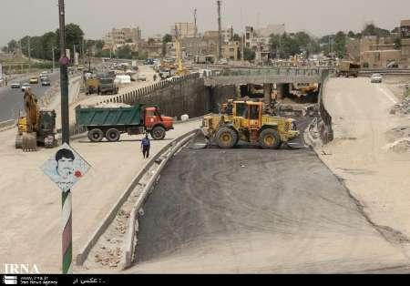 عملیات احداث زیر گذر 15 خرداد ورامین تعطیل شد