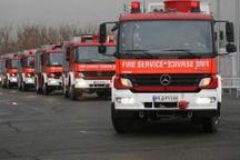 استقرار 25 دستگاه خودروی آتش نشانی به همراه 140 آتش نشان در مصلای امام خمینی (ره)