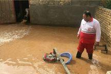 تخلیه آب از ۱۷۴ واحد مسکونی و تجاری قزوین