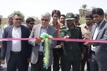 همزمان با هفته دولت یک طرح عمرانی در فاریاب به بهره برداری رسید