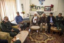 مسئولان با خانواده های 180 شهید دفاع مقدس در یزد دیدار کردند