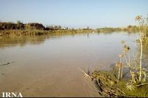 رودخانه قره سو در غرب گلستان پر آب شد