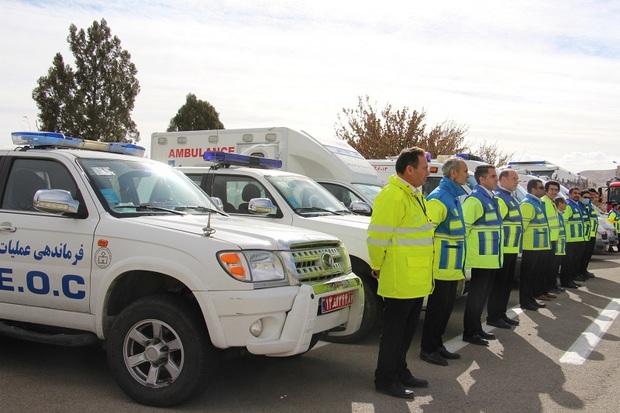5 تیم فوریت های پزشکی سردشت در حالت آماده باش قرار دارند