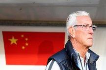 چاینادیلی: لیپی قطع همکاری کرد/چین دنبال مربی جدید است