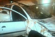واژگونی 206 در قزوین یک کشته و سه مصدوم برجای گذاشت