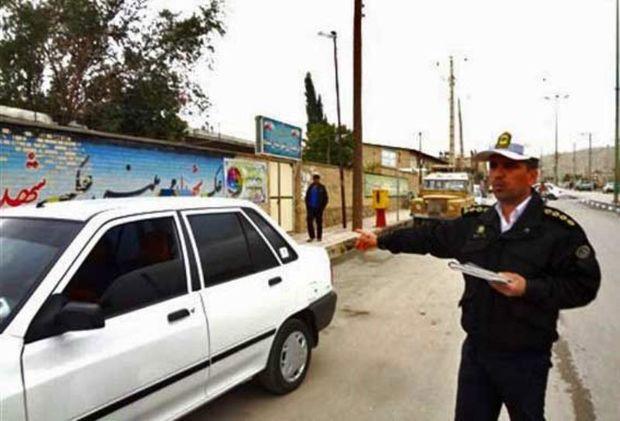 تردد خودرو در پیاده روها 650 هزار ریال جریمه در بردارد