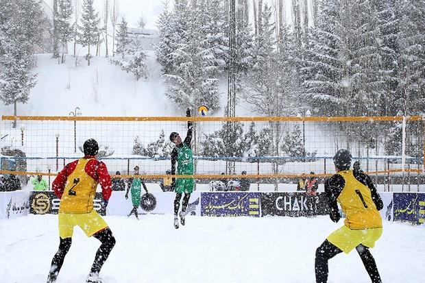 تیم نقده به تور اروپایی والیبال روی برف اعزام می شود