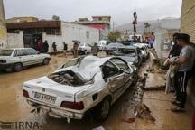 جزئیات کمک دولت به مالکان خودروهای آسیب دیده سیل شیراز