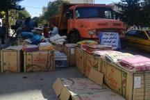 بیش از 700 تن کمک های غیرنقدی مردم کرمانشاه به مناطق زلزله زده ارسال شد