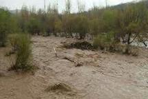 بارندگی شدید به روستای زرگر آباد دامغان خسارت زد