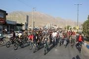 جشنواره دوچرخهسواری خانوادگی در ماکو