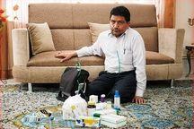 جانباز شیمیایی در مشهد به یاران شهیدش پیوست
