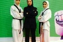 حضور ۳ گیلانی در مسابقات تکواندوی قهرمانی نوجوانان دختر آسیا