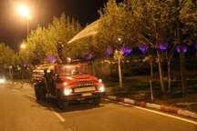 مرحله دوم عملیات سمپاشی درختان سطح شهر سنندج آغاز شده است