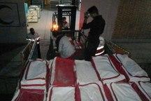 سه محموله اقلام کمکی هلال احمر به کرمانشاه ارسال شد