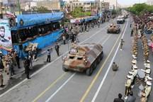 رژه نیروهای مسلح به مناسبت روز ارتش در اصفهان برگزار شد