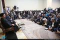 دیدار شهردار و اعضای شورای اسلامی شهر تهران با سید حسن خمینی