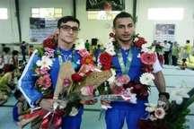 مردم ورزش دوست قائمشهر از مدال آوران ژیمناستیک استقبال کردند