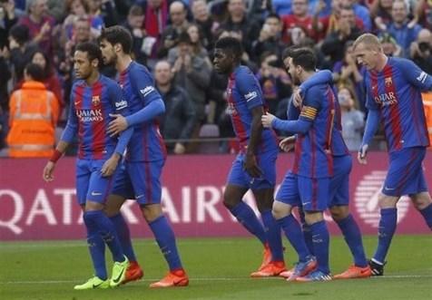 صدرنشینی بارسلونا با برتری مقابل سلتاویگو